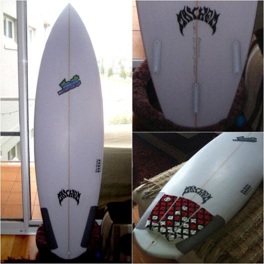 Lost Rocket Surfboard Review Image | Benny's Boardroom - CompareSurfboards.com