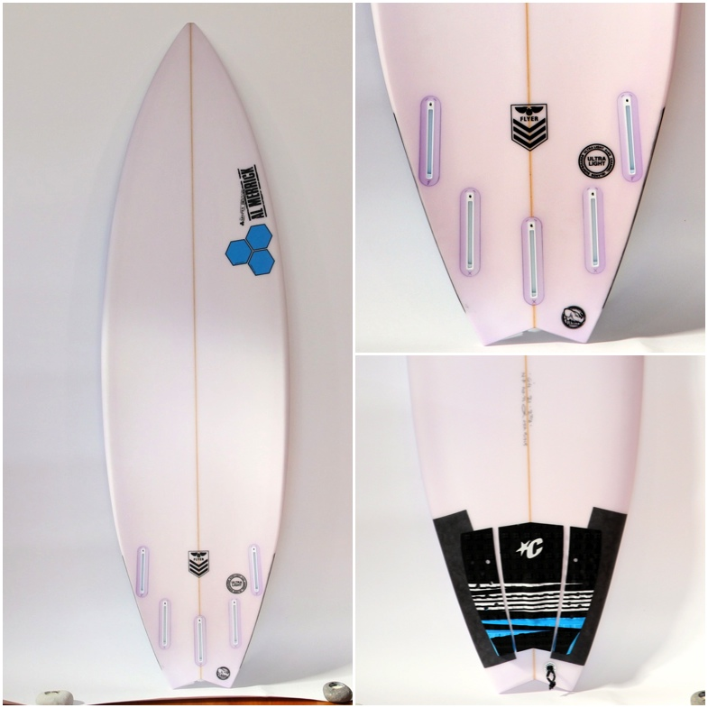 Channel Islands New Flyer (Swallow Tail) Surfboard Review Image   Benny's Boardroom - CompareSurfboards.com