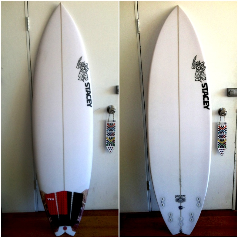 Stacey Surfboards Snake Eyes Surfboard Review Image | Benny's Boardroom - CompareSurfboards.com