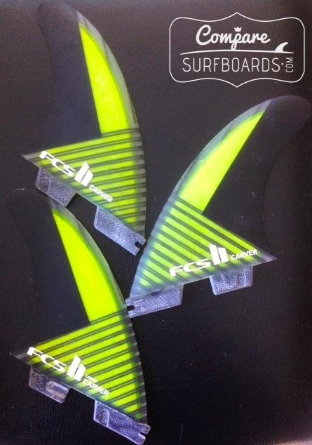 FCS 2 Fins System - Carvers   CompareSurfboards.com