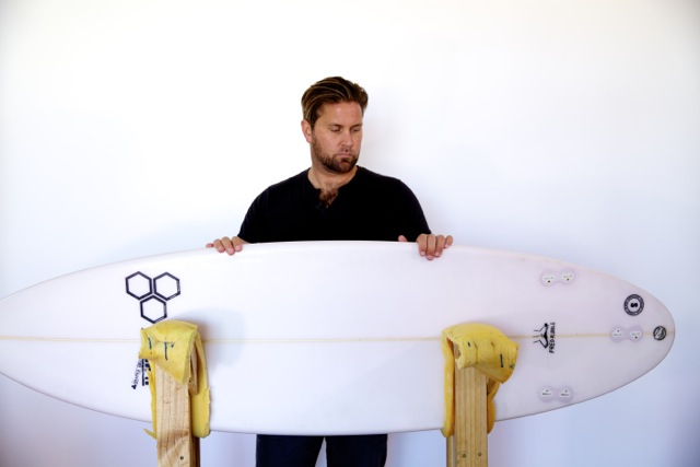 Channel Islands Fred Rubble surfboard review image | CompareSurfboards.com