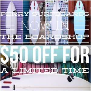 Perry Surfboards for Sale | Boardshop-CompareSurfboards.com