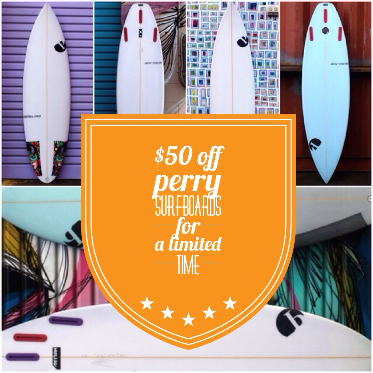 Buy Perry Surfboards | CompareSurfboards.com