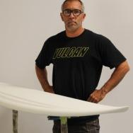 Dane Hantz, Vulcan Surfboards, My Favourite Board-Full Yellow Jacket   Compare Surfboards