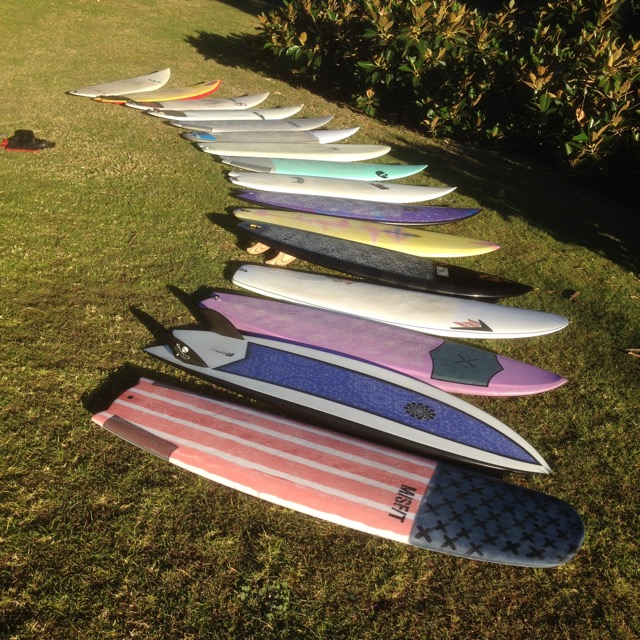 Bennys Evolving Surfboard Quiver   Compare Surfboards