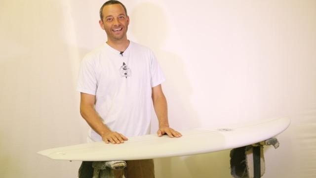 Matt Calvani, My Favourite Board-Bing Surfboards Dharma 2.0