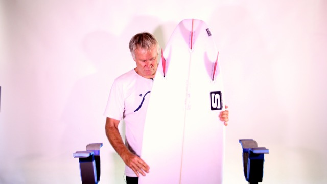 Simon Anderson Surfing, Talking My Favourite Board-Simon Early Bird