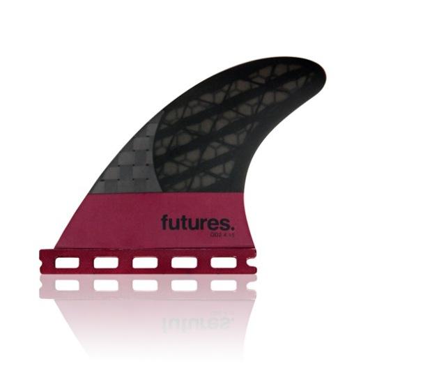 Futures Fins Blackstix 3.0 LARGE QD2 Rear Quad Trailers Fins   Compare Surfboards1