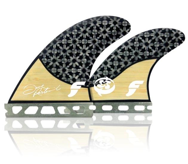 Shop Futures Rasta Signature Quad Fins - Bamboo   Boardshop-CompareSurfboards.com