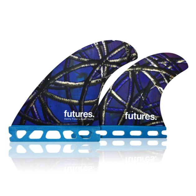 Shop Futures Fins Danny Fuller Quad Fins | Benny's Boardroom 015