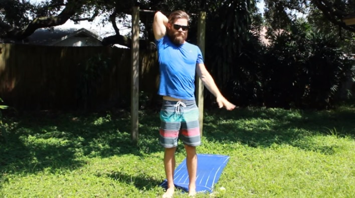 Stretches for Surfers - Upper Body Joint Health & Movement Drills 1