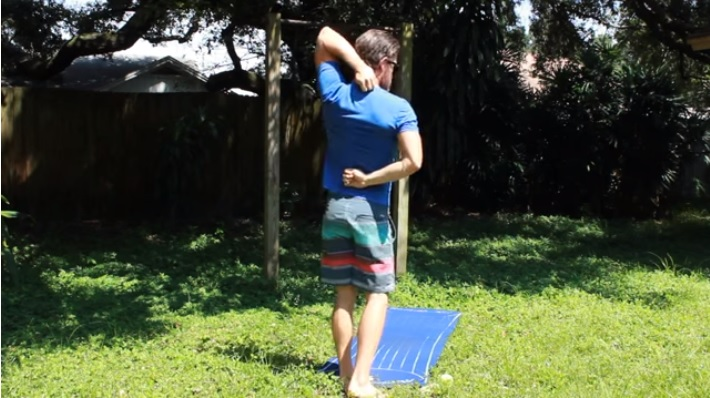Stretches for Surfers - Upper Body Joint Health & Movement Drills