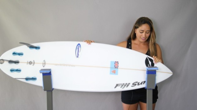 The Delightful Hannah Bennett, Girl Surf Network & Her Magic Surfboard by Fiji Surf Co | Compare Surfboards 2