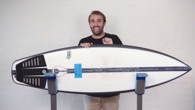 HS Holy Grail CI Hoglet Surfboard Review | Compare Surfboards 5