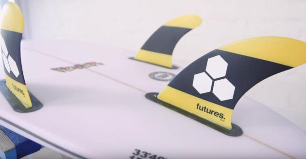 CI Fever Surfboard Futures Fin | Compare Surfboards