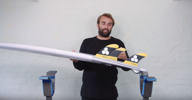 Channel Islands Fever Fin Set-up | Compare Surfboards