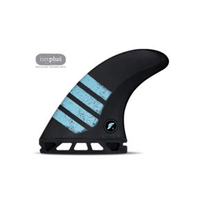 Shop Futures Fins F8 Alpha Large Thruster Fins in Carbon/Green Online at Benny's Boardroom