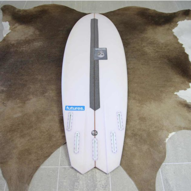 Christenson Mescaline Surfboard Review - Tail | Compare Surfboards